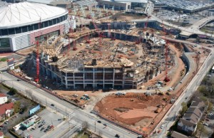 Falcons stadium, March 2015
