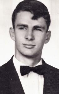 Greg Wittkamper's senior year (1965) portrait.