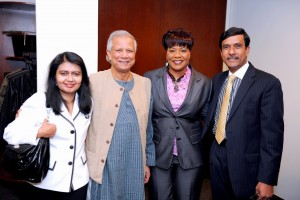 Shamima Amin, Yunus, Bernice King, Bhuiyan