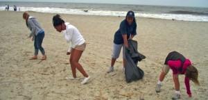Tybee Island clean up