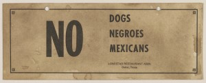 Restaurant sign from Texas. Credit: Library of Congress