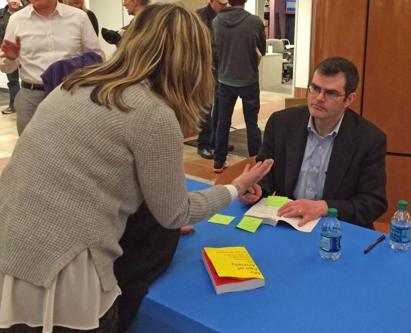 Stossel signing