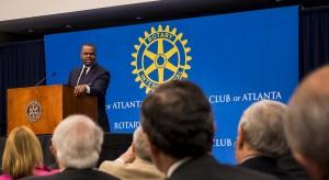 Mayor Reed Rotary