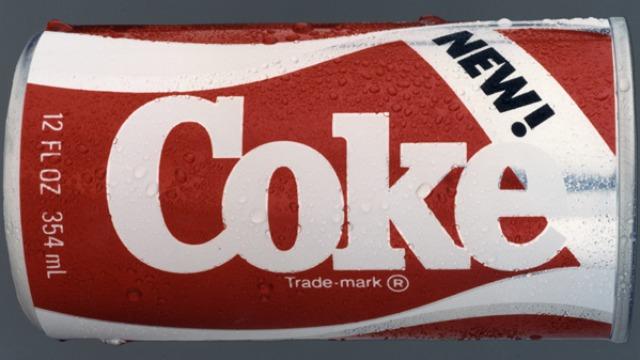 """a """"mew"""" Coke"""