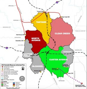 CSO map