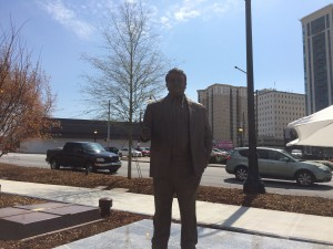 Charlie Loudermilk statue