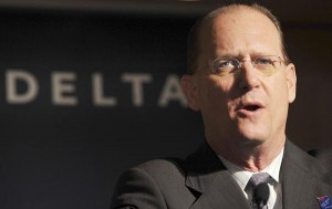 Delta Air Lines CEO Richard Anderson has been the most vocal business leader in Georgia according to journalist Maria Saporta. Credit Katsumi Kasahara, file / Associated Press