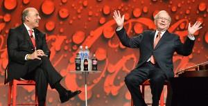 Muhtar Kent and Warren Buffett