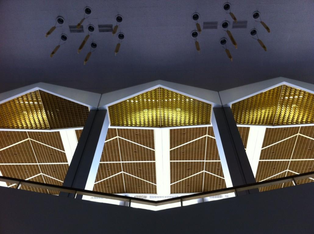 Lobby of the Atlanta Civic Center by Kelly Jordan