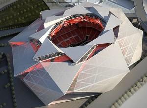 new Falcons stadium