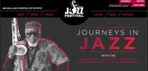 The 38th annual Atlanta jazz Festival culminates with a three-day event on Memorial Day weekend. Credit: City of Atlanta