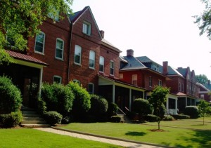 Fort McPherson's Staff Row