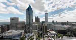 Atlanta's skyline 2009