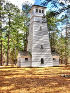 Lookout and water tower at A. H. Stephens State Park in Taliaferro County, built by CCC workers. Photo: Ren Davis
