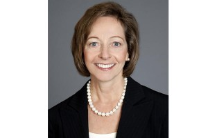 Veritiv's Mary Laschinger would be the first female CEO of a Fortune 500 company in Georgia.