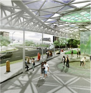 Courtland-McGill bridge design
