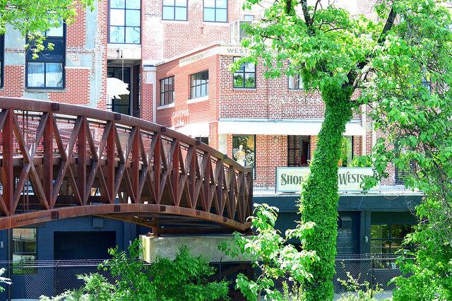Bridge to Westside provisions district by Lisa Panero
