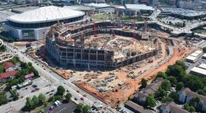 Falcons stadium, May 2015