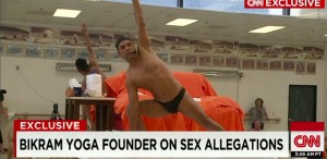 CNN aired an interview with yogi Bikram Choudhury in April in which he answered allegations of sexual abuse. Several studios bearing his brand of yoga, including Eric Jennings' studio in Decatur, have dropped the Bikram name.