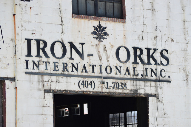 Renovation of Iron Works building Westside by Lisa Panero