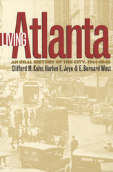 The book Living Atlanta was created from an oral history initiative of the Atlanta community radio station WRFG.