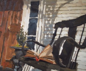 Southern Litfest in Newnan, June 5-6. Painting, The Center of the Universe, by David Boyd Jr.