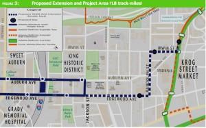 streetcar extension map