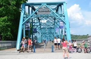 Chattanooga Riverwalk, trestle