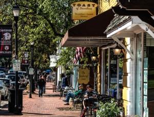 Davidson, streetscape