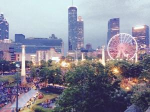Metro Atlanta Chamber rooftop view