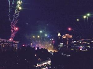 Metro Atlanta Chamber fireworks