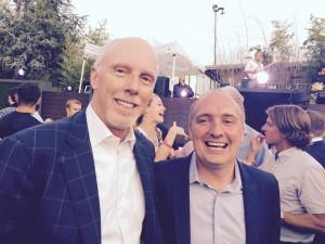 Rich McKay and Darren Eales