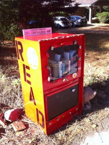 My Little Free Library was stolen, and the story was hard to tell my dad. I feared his judgment.