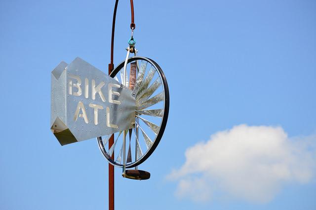 Bike Atlanta on the Beltline by Lisa Panero