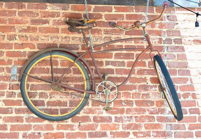 Coffee shop bike by Lisa Panero