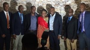 Anne Mugisha with family