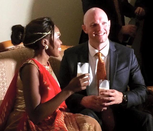 Anne Mugisha and Joshua Martin
