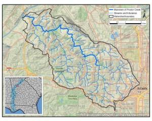 Proctor Creek watershed