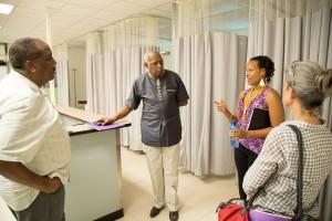 Haiti, hospital facilities