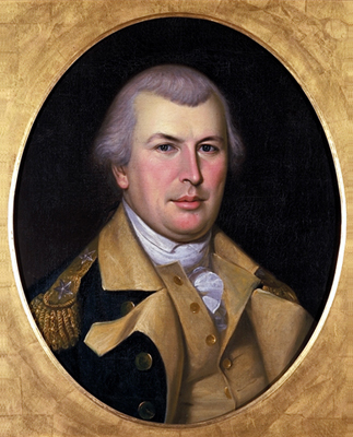 Nathanael Greene, commander of the Southern Department of the Continental army during the Revolutionary War.