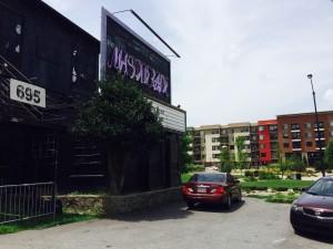 Apartments, Historic Fourth Ward Park, July 2015