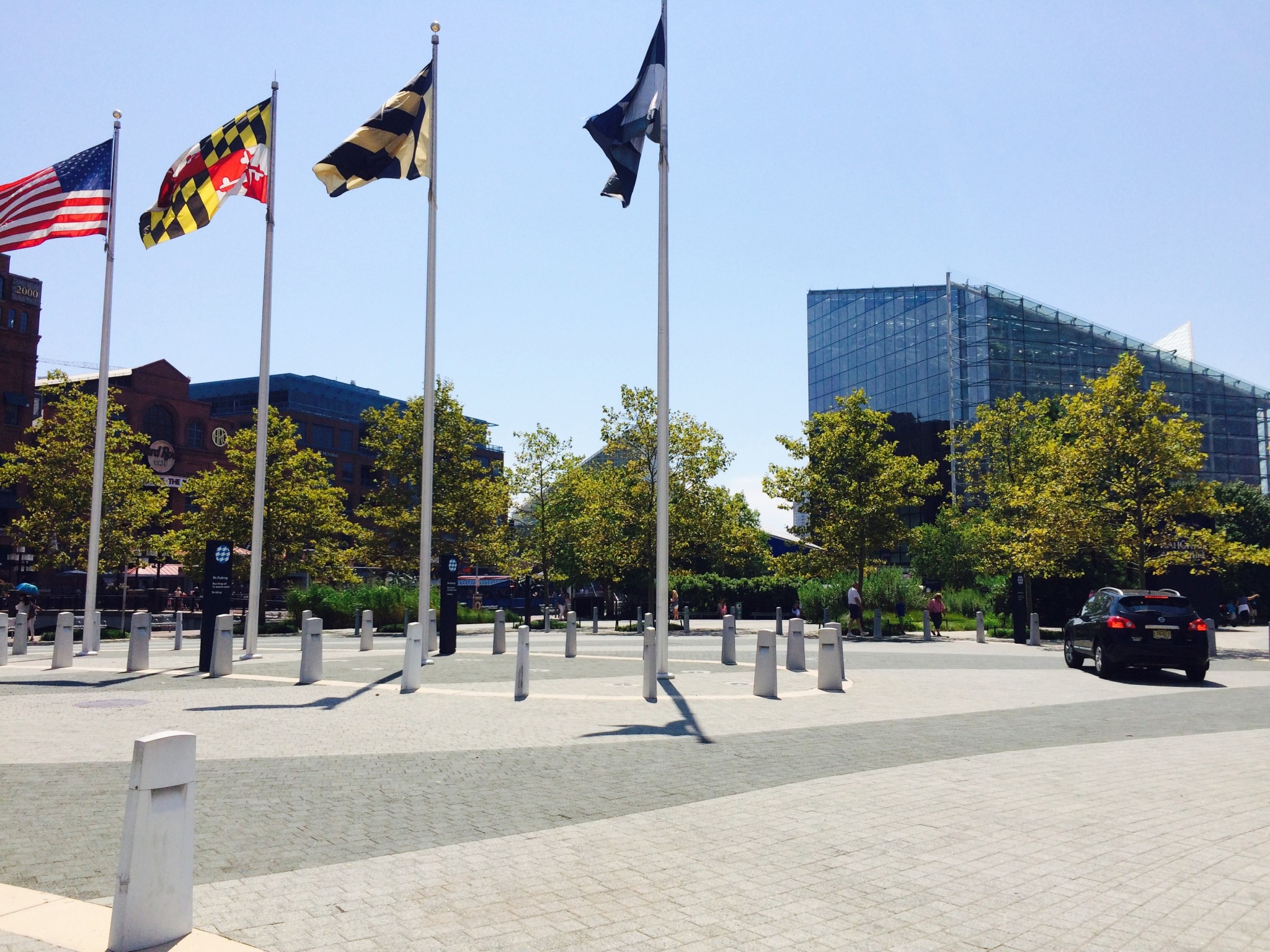 National Aquarium, entrance plaza