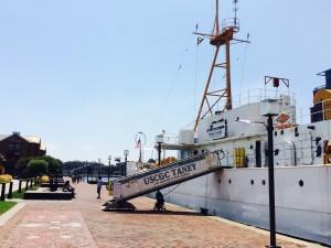 National Aquarium, Coast Guard vessel