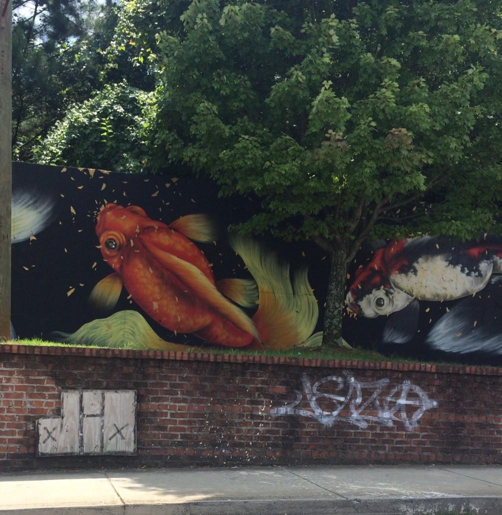 Koi on Irwin Street by Odetta MacLeish-White