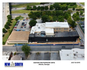 New South's photo of the expansion under construction (Special: New South Construction)