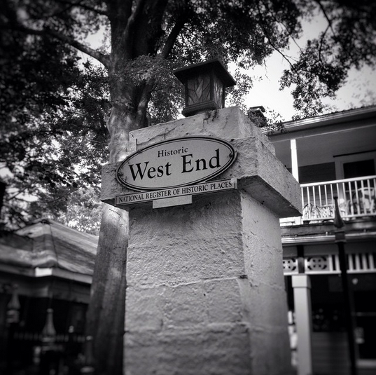 Historic West End by Wendy Darling