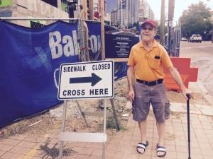 Bruce Rose sidewalks