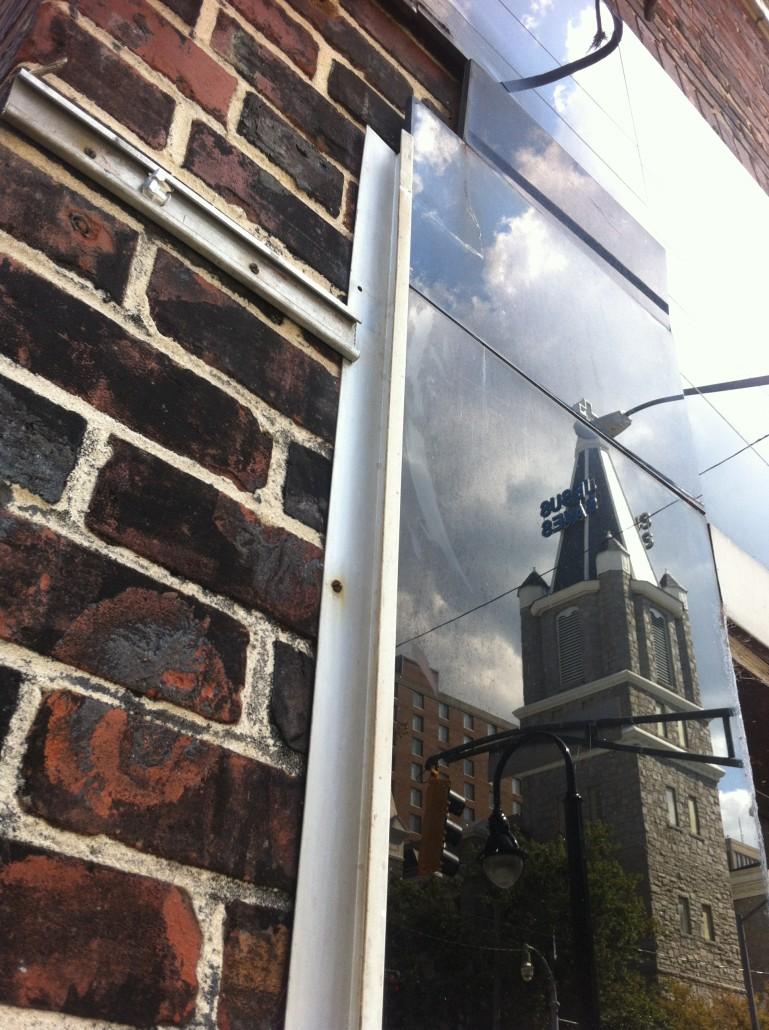 Reflections on old Auburn by Kelly Jordan.