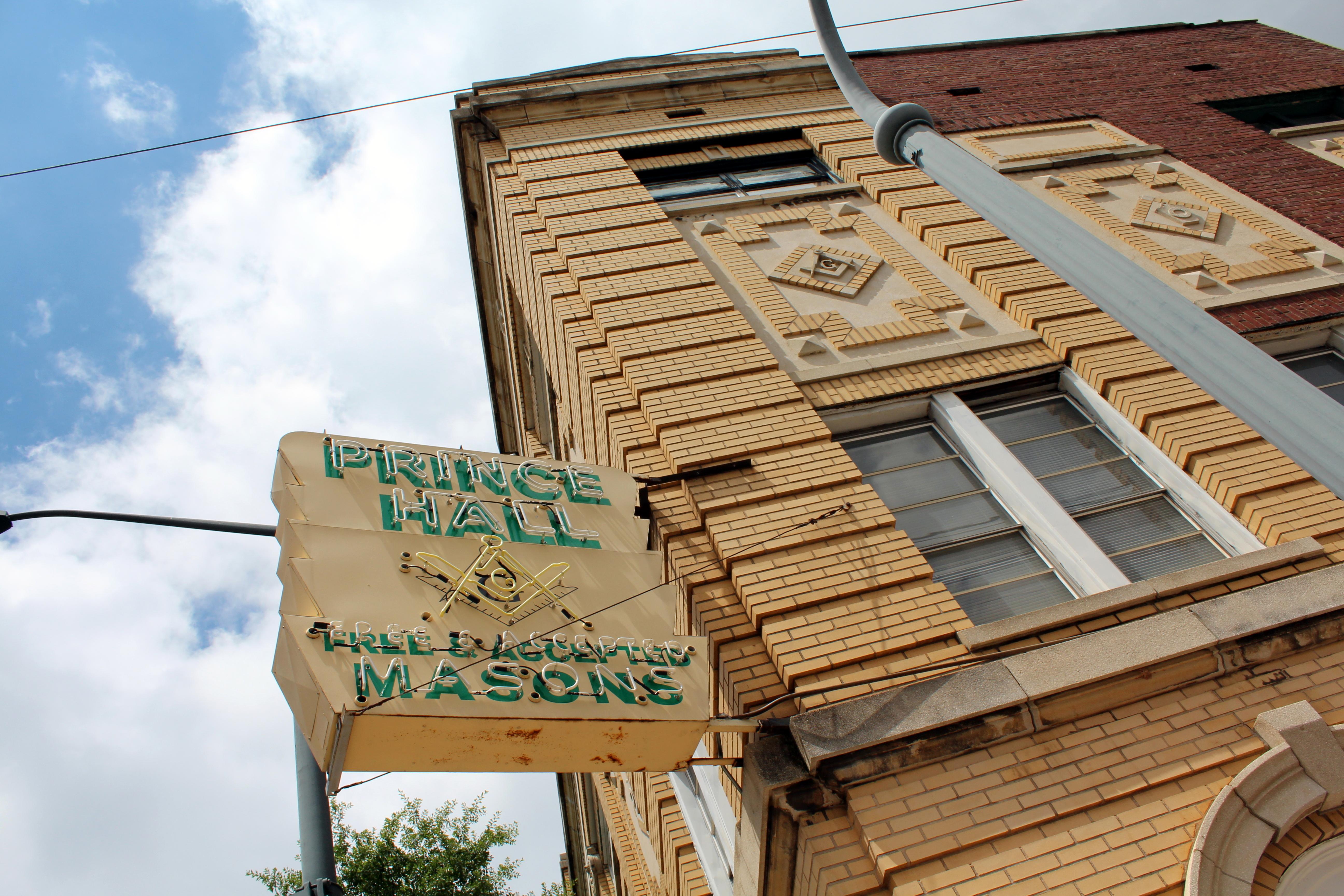 Prince Hall Masonic Temple on Auburn Avenue, Atlanta. Photo: Wally Gobetz/Flickr