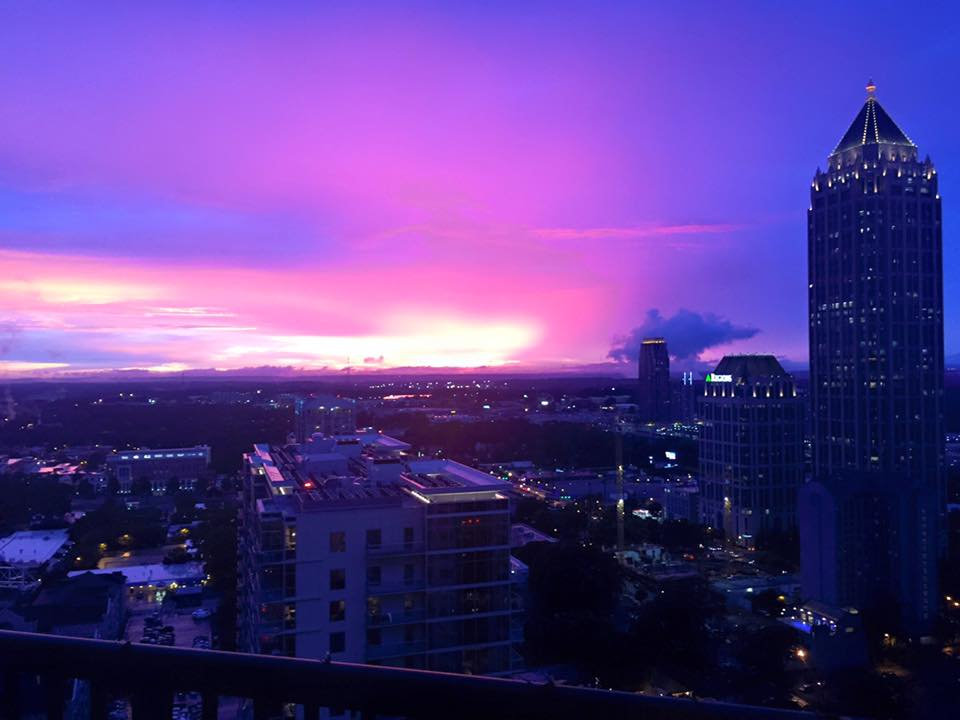No filter on this gorgeous post-rain sunset by Ritu Verma